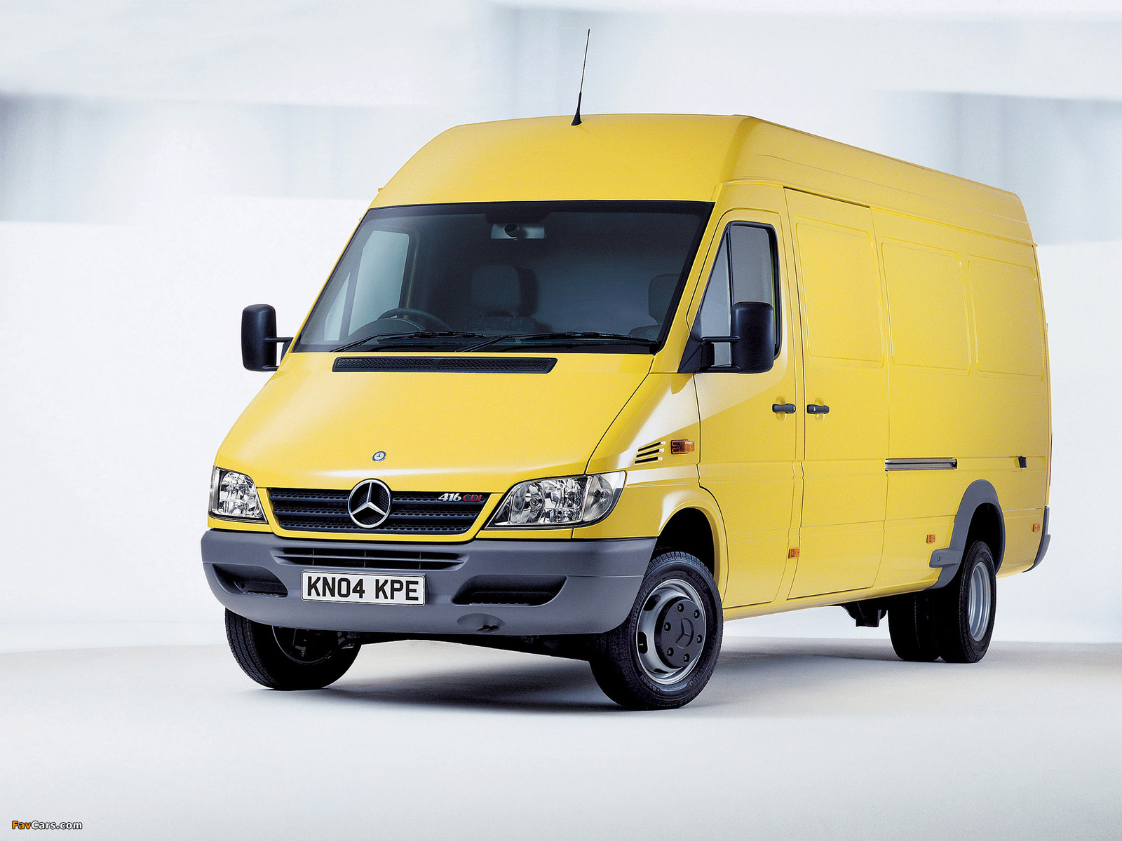 Mercedes Benz Sprinter Van Uk Spec 2002 06 Wallpapers