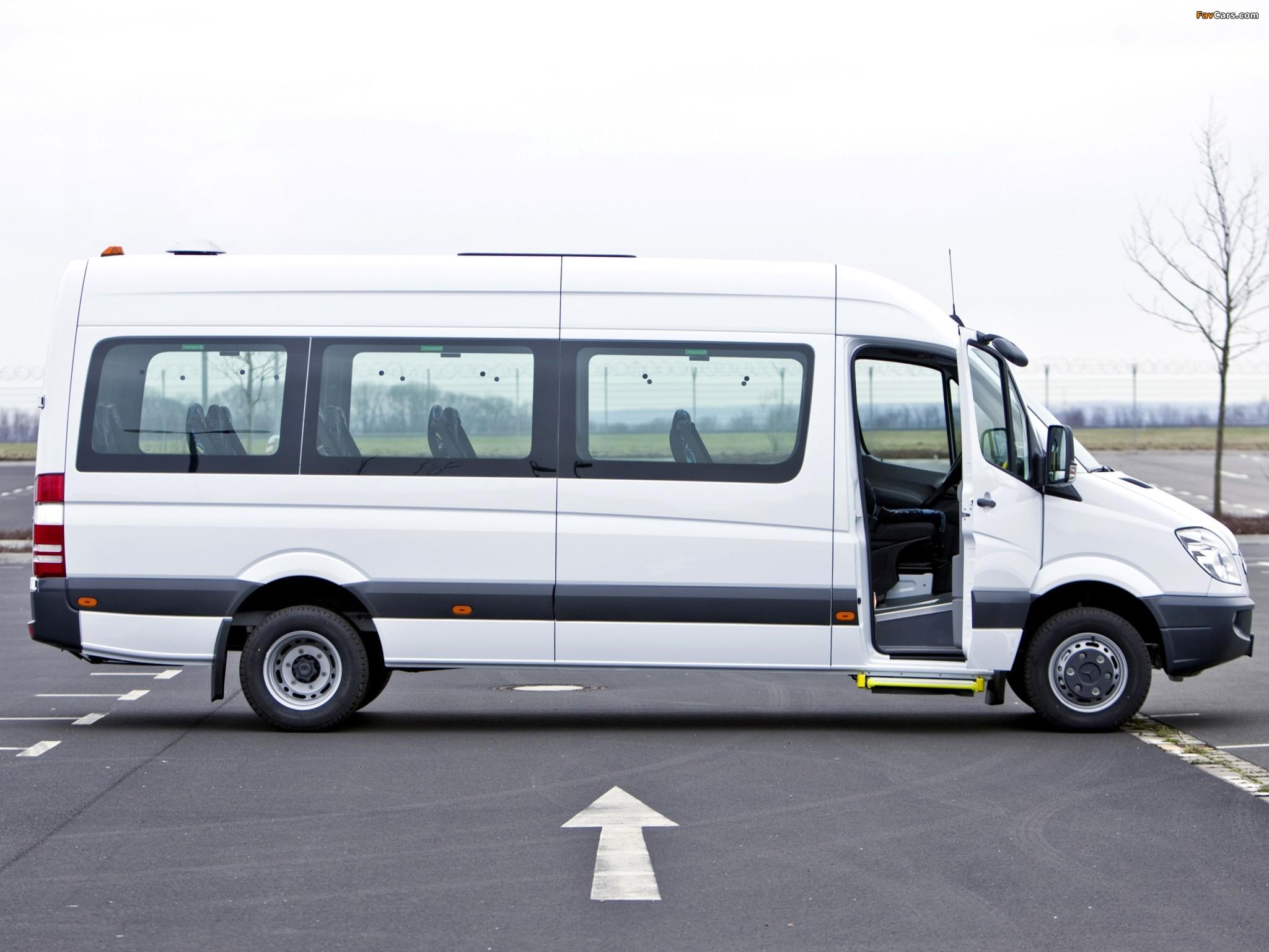 Mercedes-Benz Sprinter Transfer 35 (W906) 2006–13 images (2048 x 1536)
