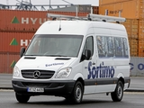 Mercedes-Benz Sprinter High Roof Van (W906) 2006–13 images