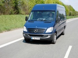 Mercedes-Benz Sprinter LWB High Roof Van (W906) 2006–13 images