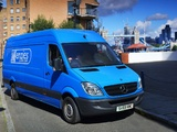 Mercedes-Benz Sprinter LWB High Roof Van UK-spec (W906) 2006–13 images