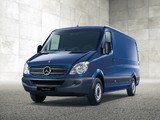 Mercedes-Benz Sprinter Van (W906) 2006–13 images