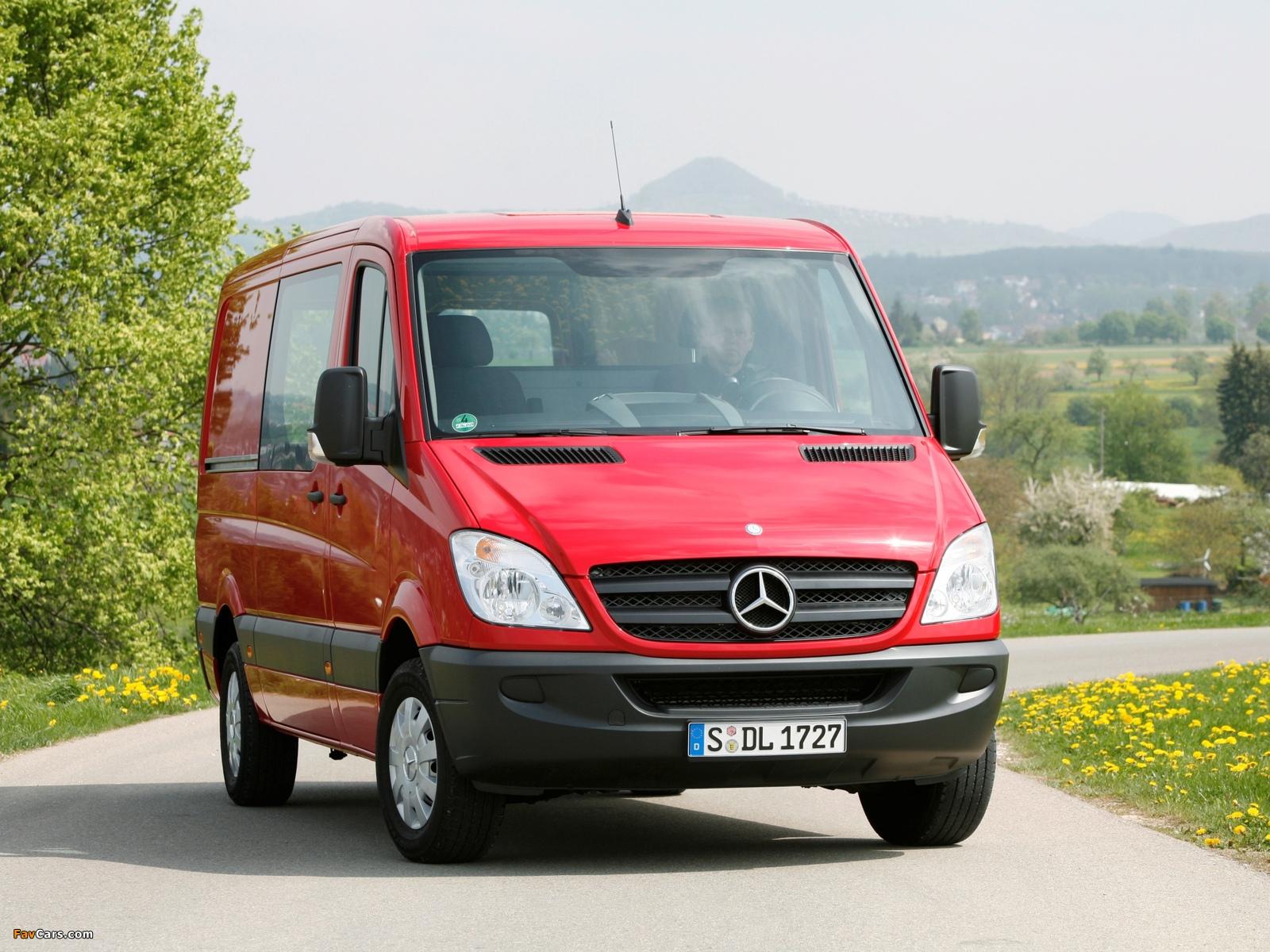 Mercedes-Benz Sprinter Van (W906) 2006–13 photos (1600 x 1200)