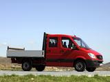 Mercedes-Benz Sprinter Double Cab Dropside (W906) 2006–13 photos