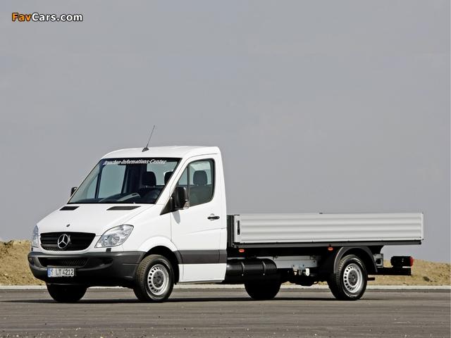 Mercedes-Benz Sprinter Dropside (W906) 2006–13 photos (640 x 480)