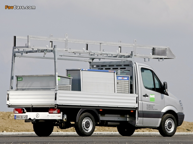 Mercedes-Benz Sprinter Dropside (W906) 2006–13 photos (640 x 480)