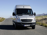Mercedes-Benz Sprinter High Roof Van (W906) 2006–13 photos