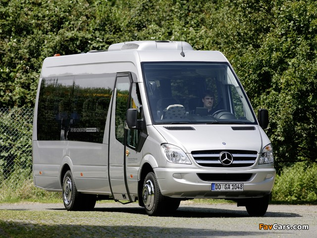 Mercedes-Benz Sprinter Travel 65 (W906) 2006 photos (640 x 480)