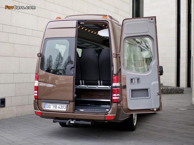 Mercedes-Benz Sprinter Travel 45 (W906) 2006–13 pictures (640 x 480)