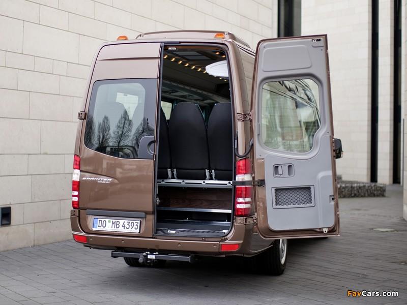 Mercedes-Benz Sprinter Travel 45 (W906) 2006–13 pictures (800 x 600)