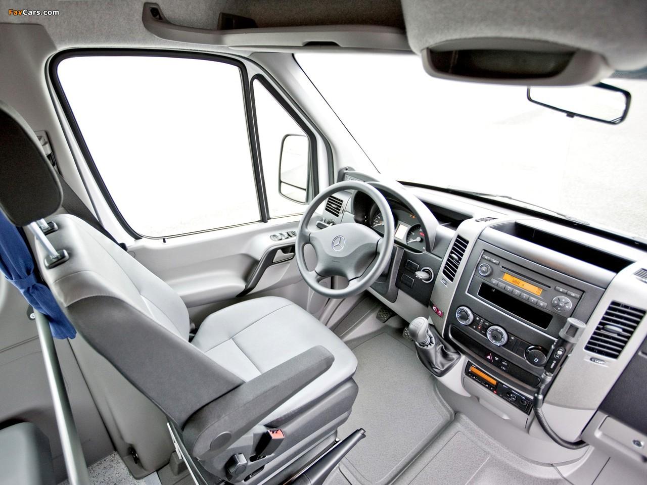 Mercedes-Benz Sprinter Transfer 23 (W906) 2006–13 wallpapers (1280 x 960)