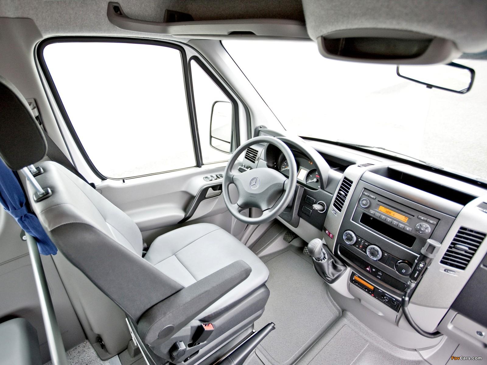 Mercedes-Benz Sprinter Transfer 23 (W906) 2006–13 wallpapers (1600 x 1200)