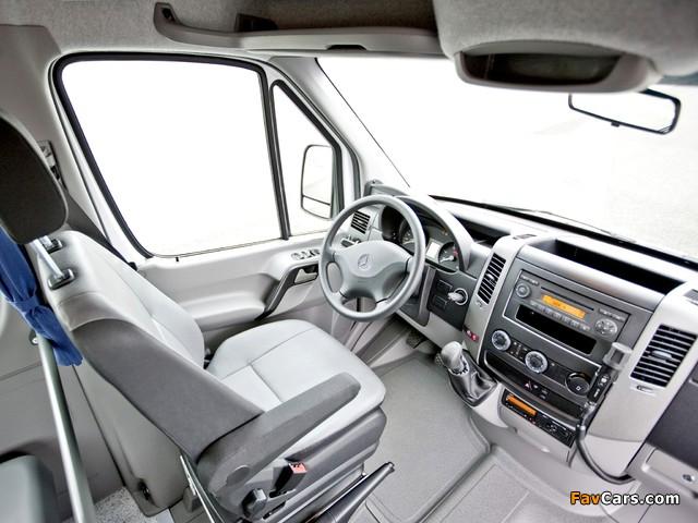 Mercedes-Benz Sprinter Transfer 23 (W906) 2006–13 wallpapers (640 x 480)