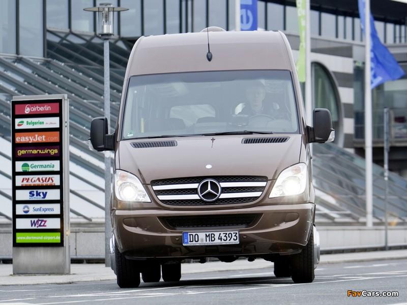 Mercedes-Benz Sprinter Travel 45 (W906) 2006–13 wallpapers (800 x 600)