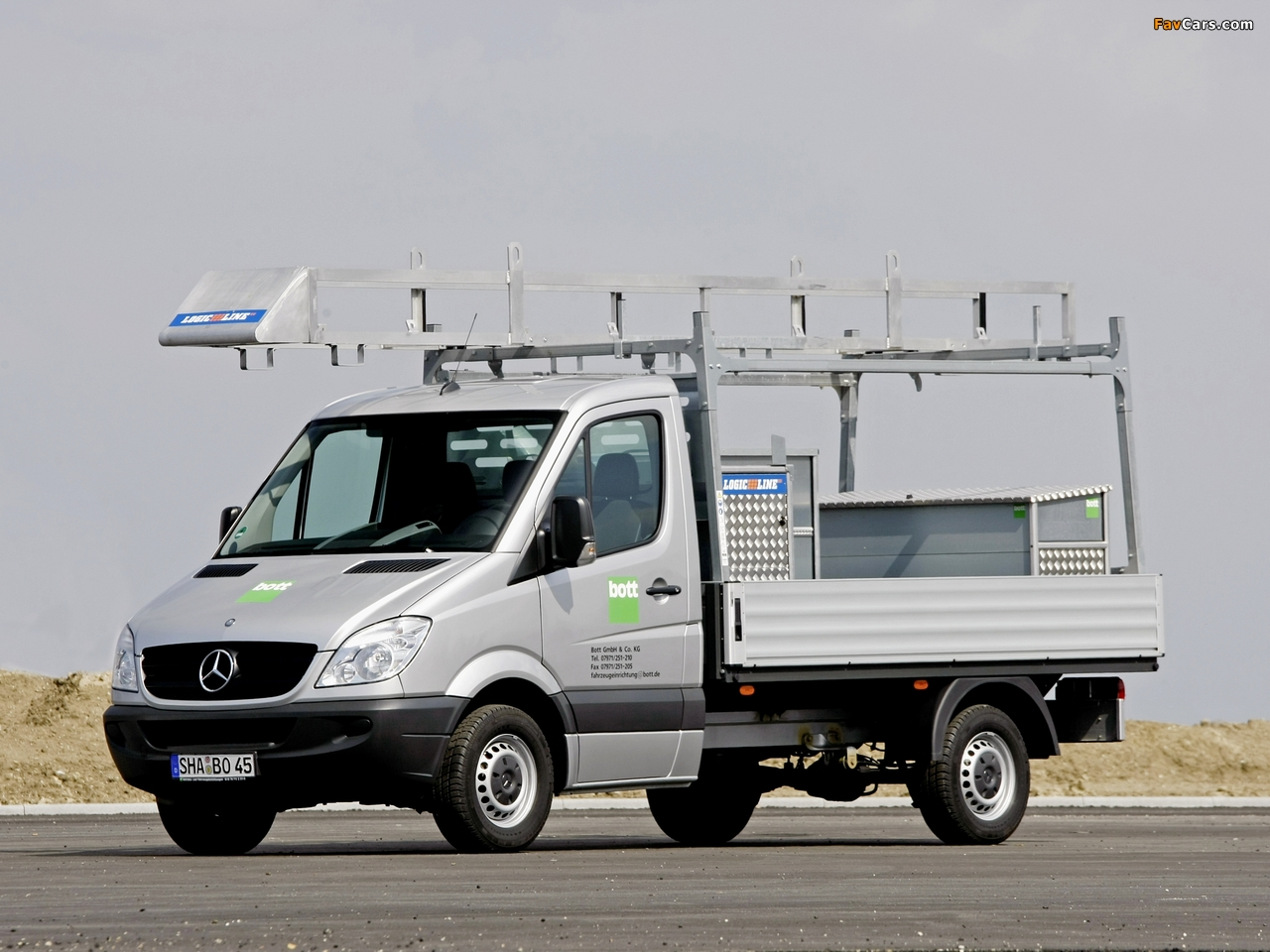 Mercedes Benz Sprinter >> Mercedes-Benz Sprinter Dropside (W906) 2006–13 wallpapers (1280x960)