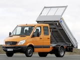 Mercedes-Benz Sprinter Double Cab Dropside (W906) 2006–13 wallpapers
