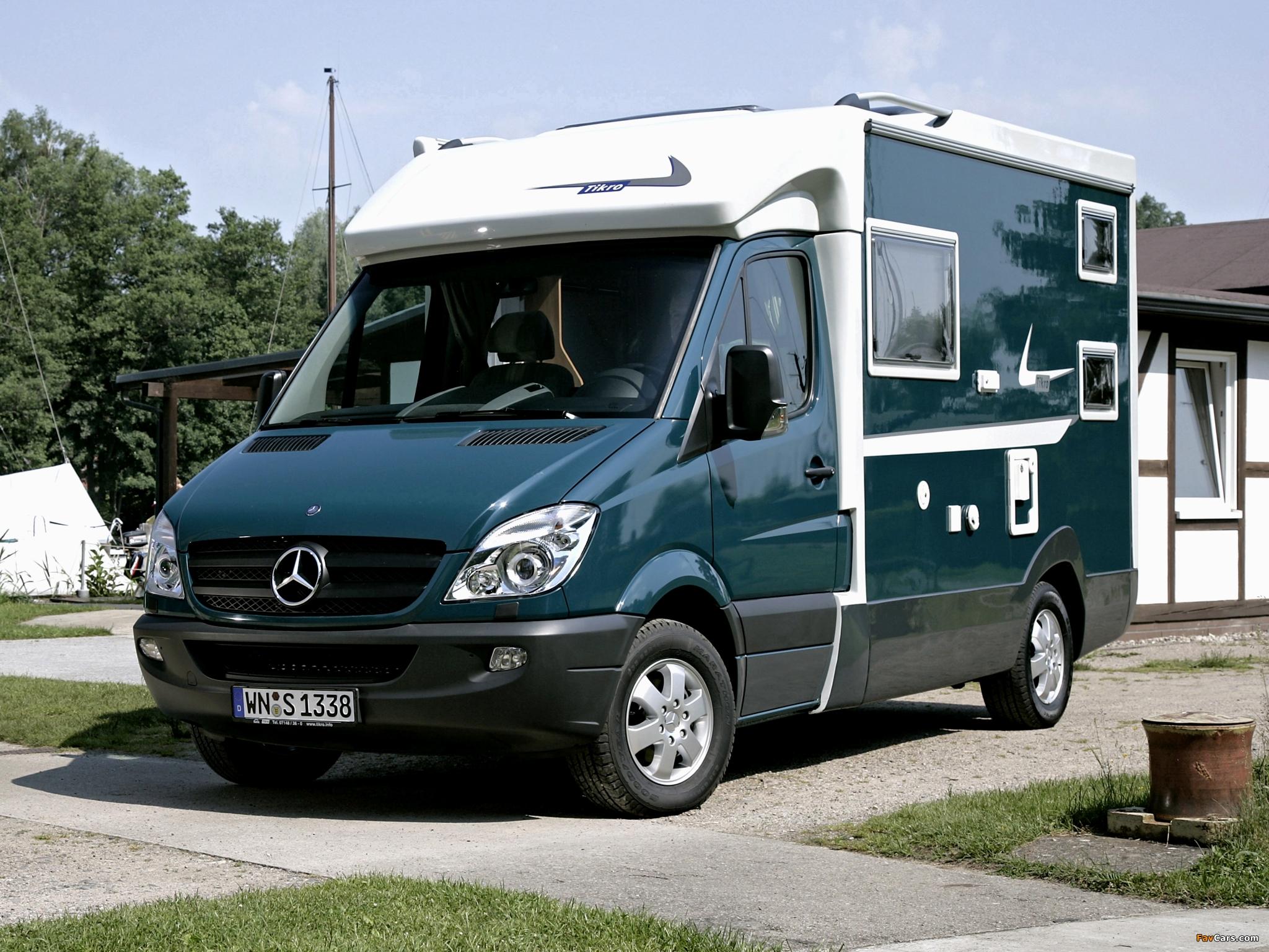 Tikro Mercedes-Benz Sprinter (W906) 2007 photos (2048 x 1536)