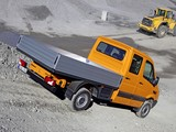 Mercedes-Benz Sprinter Double Cab Dropside 4x4 (W906) 2009–13 images