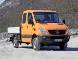 Mercedes-Benz Sprinter Double Cab Dropside 4x4 (W906) 2009–13 photos