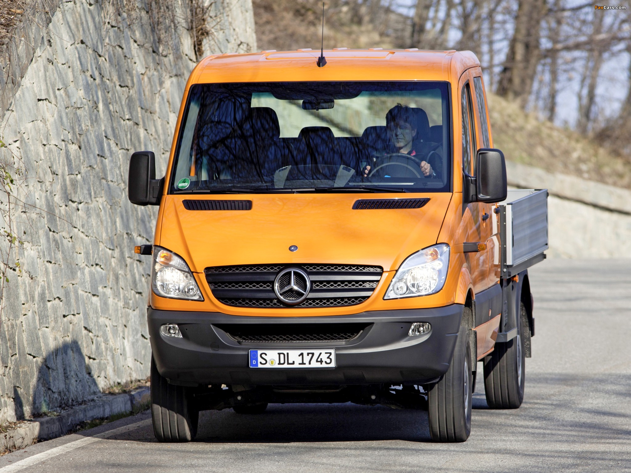 Mercedes-Benz Sprinter Double Cab Dropside 4x4 (W906) 2009–13 wallpapers (2048 x 1536)