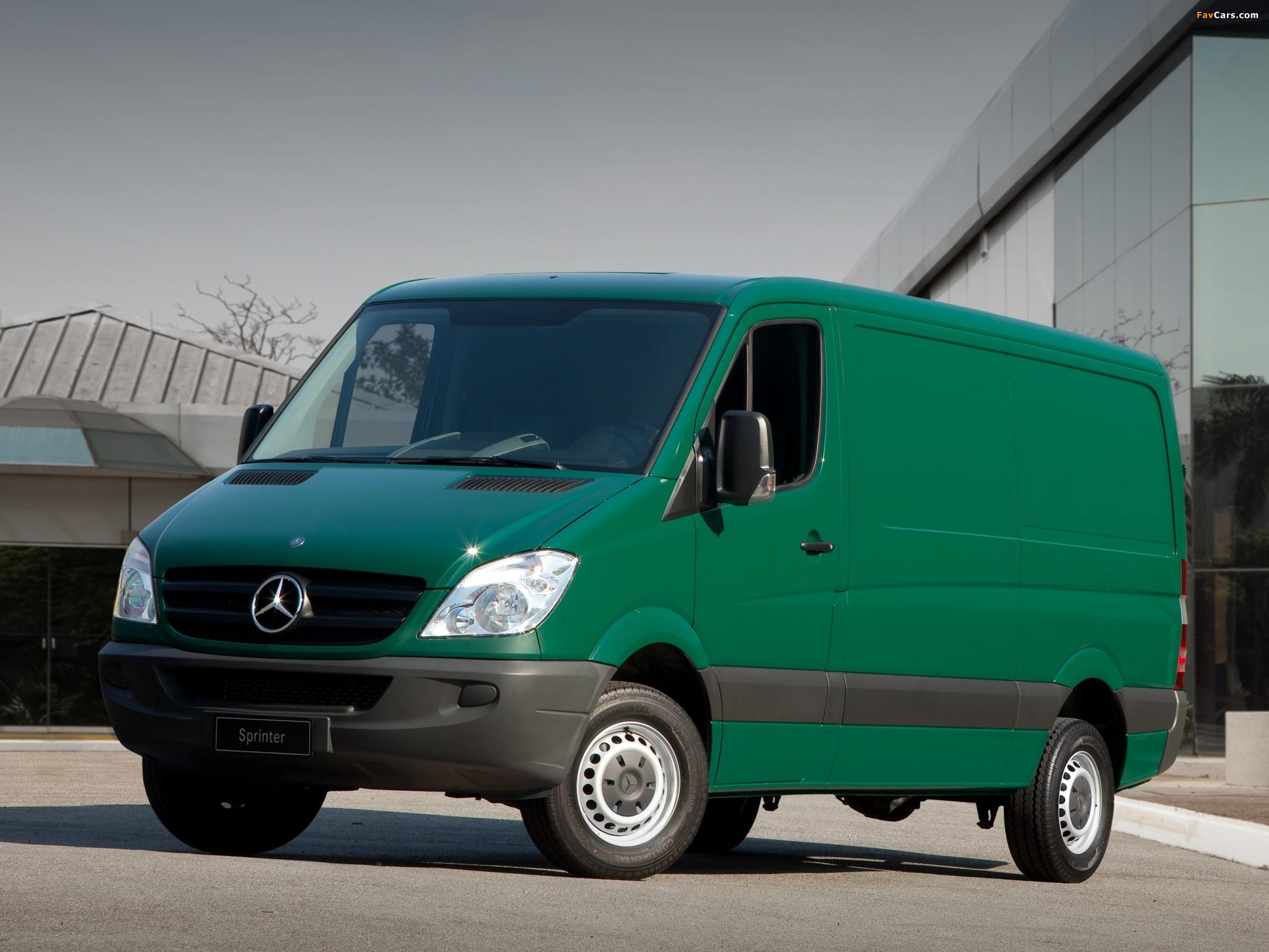 Mercedes-Benz Sprinter Van BR-spec (W906) 2011 pictures (2048 x 1536)