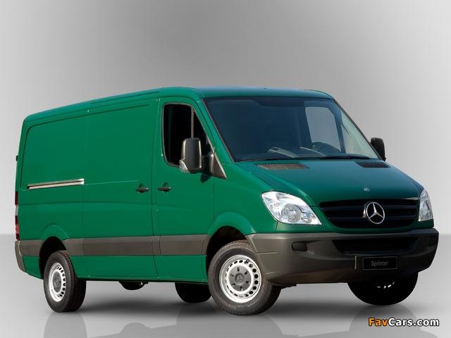 Mercedes-Benz Sprinter Van BR-spec (W906) 2011 wallpapers (640 x 480)