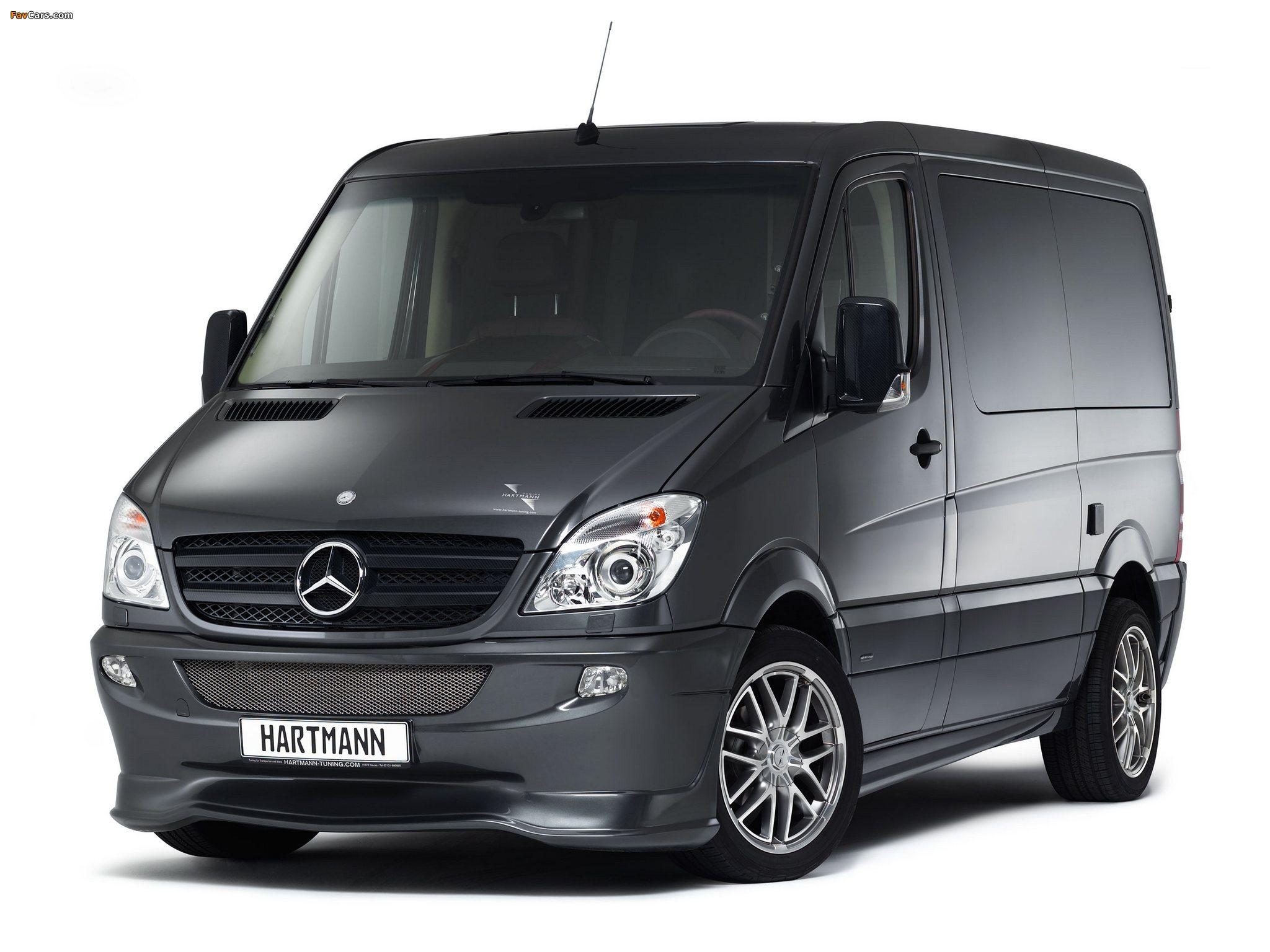Hartmann Mercedes-Benz Sprinter SP5 Conference (W906) 2012 photos (2048 x 1536)