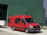 Mercedes-Benz Sprinter High Roof Van (W906) 2013 images