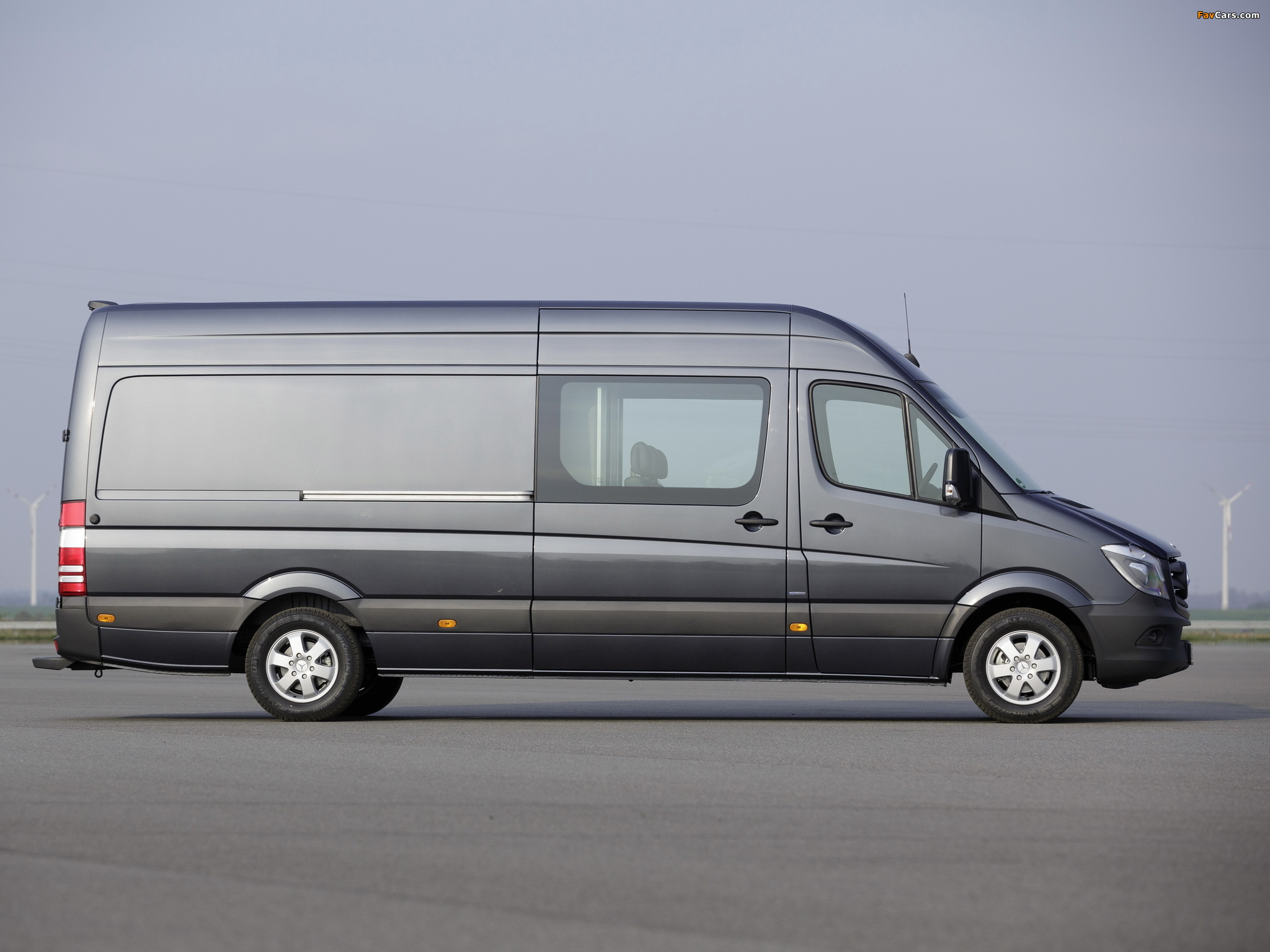 Mercedes-Benz Sprinter LWB High Roof Van (W906) 2013 photos (2048 x 1536)