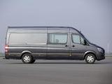 Mercedes-Benz Sprinter LWB High Roof Van (W906) 2013 photos