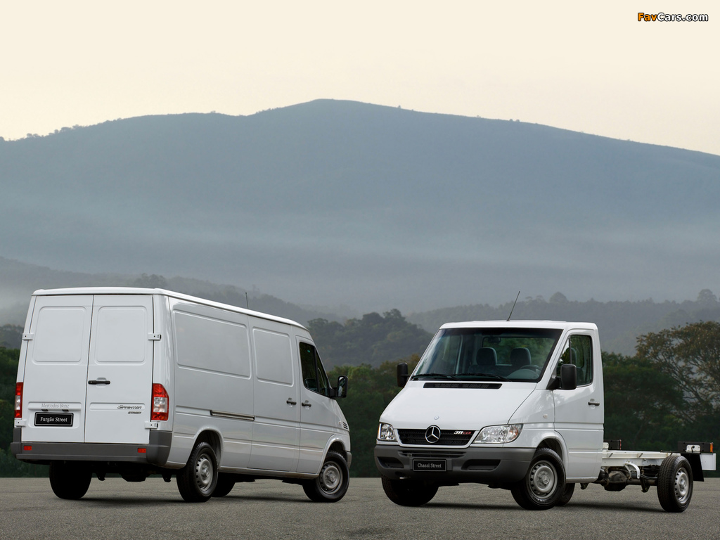 Mercedes-Benz Sprinter images (1024 x 768)