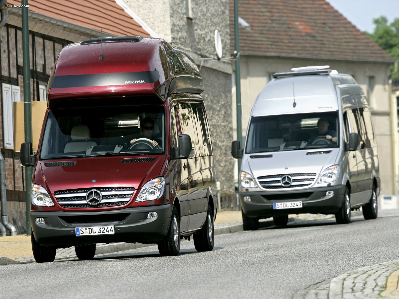 Mercedes-Benz Sprinter pictures (1600 x 1200)