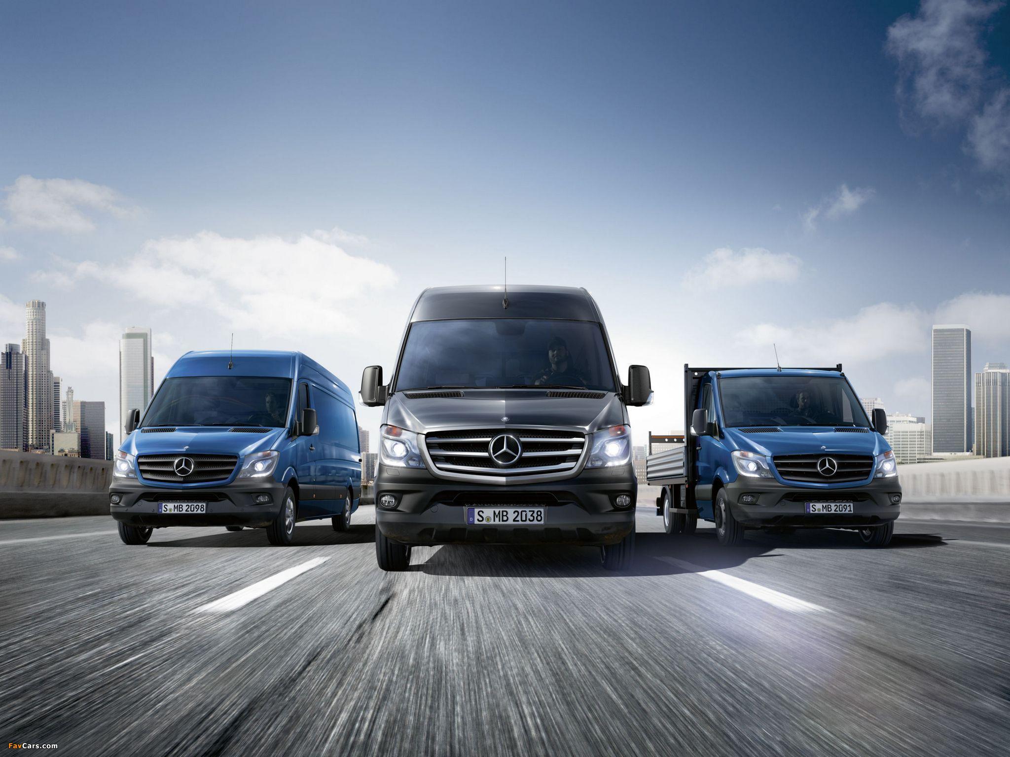 Photos of Mercedes-Benz Sprinter (2048 x 1536)