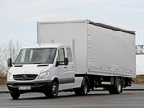 Photos of Mercedes-Benz Sprinter Double Cab Tractor (W906) 2006–13