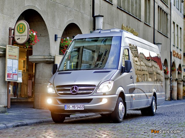 Photos of Mercedes-Benz Sprinter Travel 65 (W906) 2006 (640 x 480)