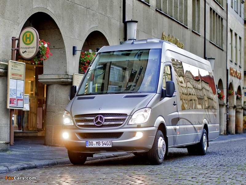 Photos of Mercedes-Benz Sprinter Travel 65 (W906) 2006 (800 x 600)