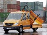 Photos of Mercedes-Benz Sprinter Double Cab Dropside (W906) 2006–13