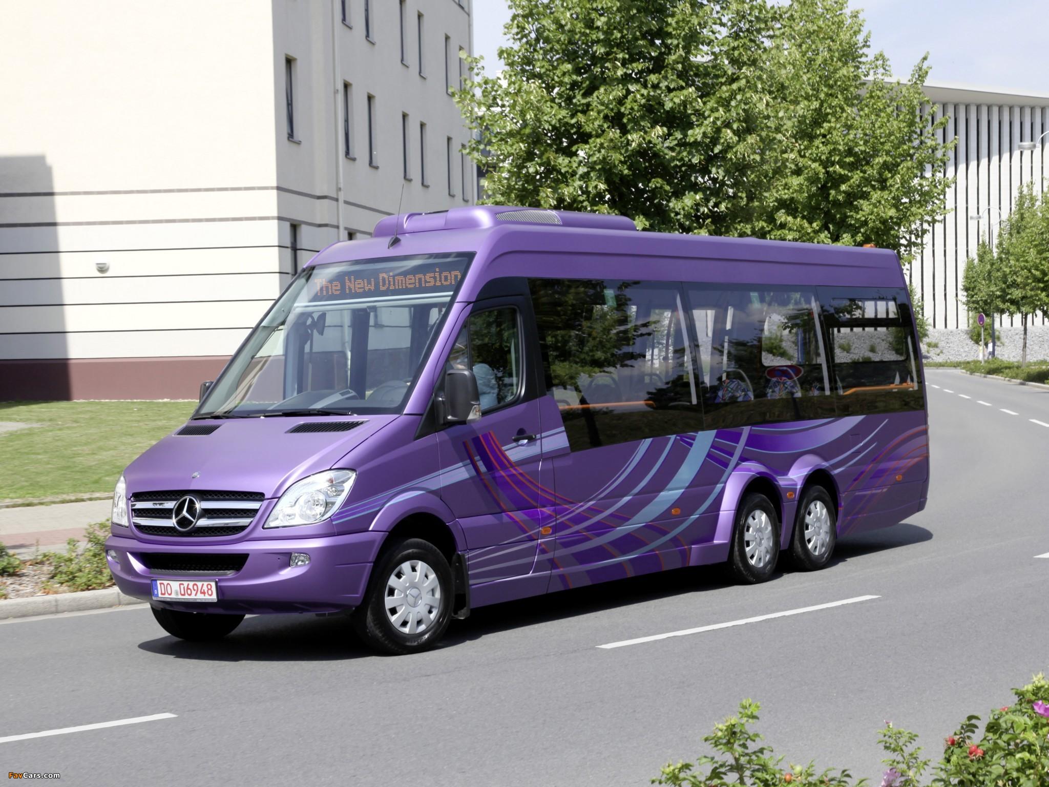 Photos of Mercedes-Benz Sprinter City 77 (W906) 2010–13 (2048 x 1536)