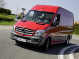 Photos of Mercedes-Benz Sprinter High Roof Van (W906) 2013