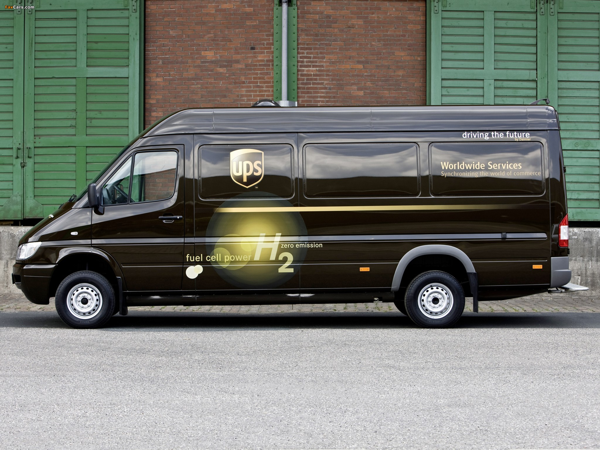 Pictures of Mercedes-Benz Sprinter Fuel Cell Drive System Concept 2004 (2048 x 1536)