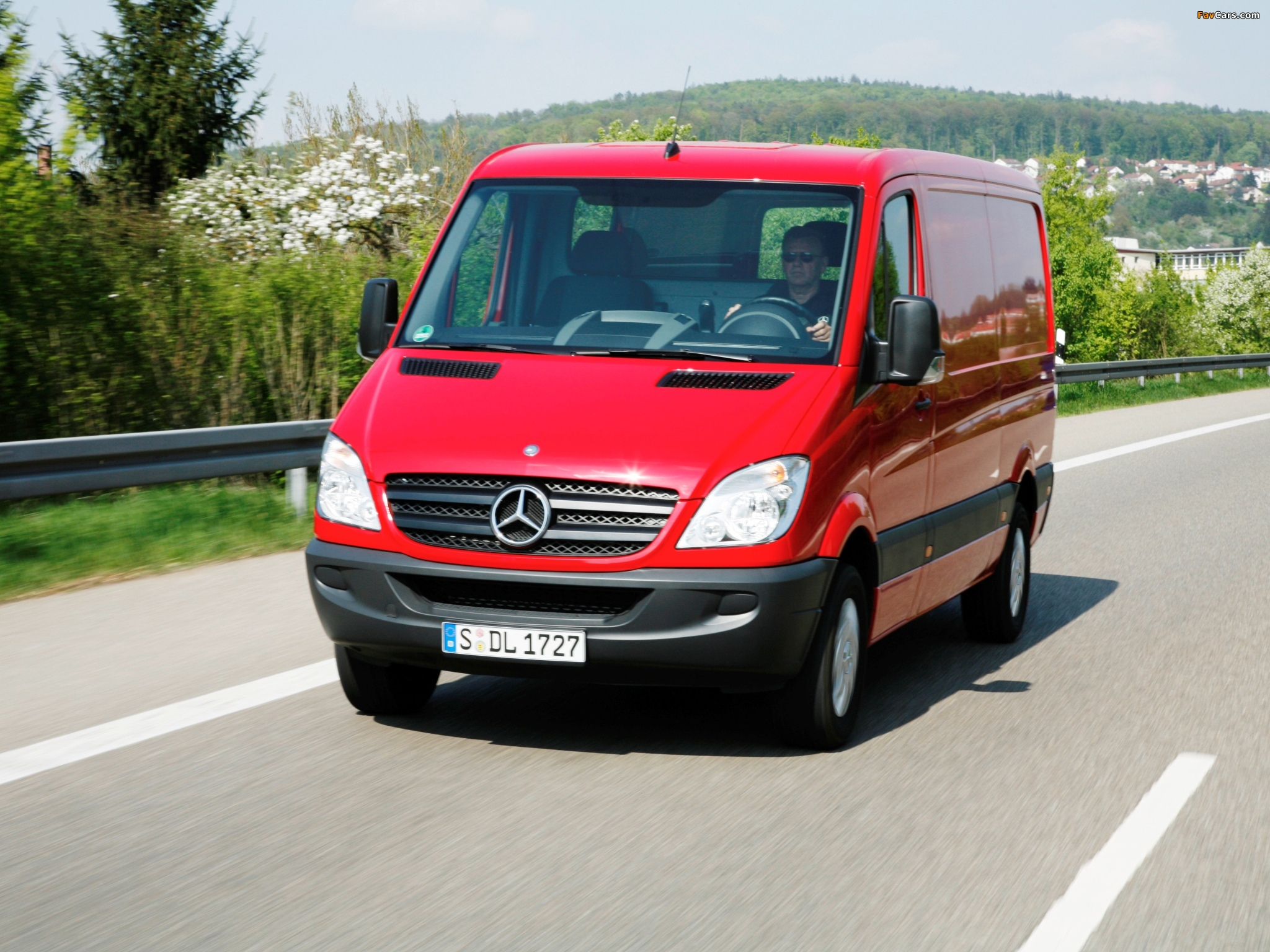 Pictures of Mercedes-Benz Sprinter Van (W906) 2006–13 (2048 x 1536)