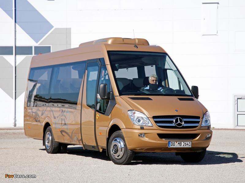Pictures of Mercedes-Benz Sprinter Travel 65 (W906) 2006 (800 x 600)