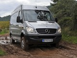 Pictures of Mercedes-Benz Sprinter High Roof Van 4x4 (W906) 2009–13