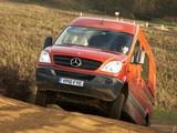 Pictures of Mercedes-Benz Sprinter High Roof Van 4x4 UK-spec (W906) 2009–13