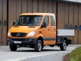 Pictures of Mercedes-Benz Sprinter Double Cab Dropside 4x4 (W906) 2009–13