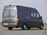Pictures of Mercedes-Benz Sprinter LWB High Roof Van (W906) 2013
