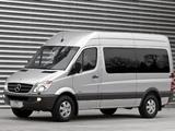Mercedes-Benz Sprinter 2500 Passenger Van (W906) 2006–13 wallpapers