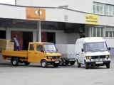 Mercedes-Benz T1 Pritschenwagen mit Doppelkabine & Kastenwagen mit Hochdach (602) 1989-95 pictures