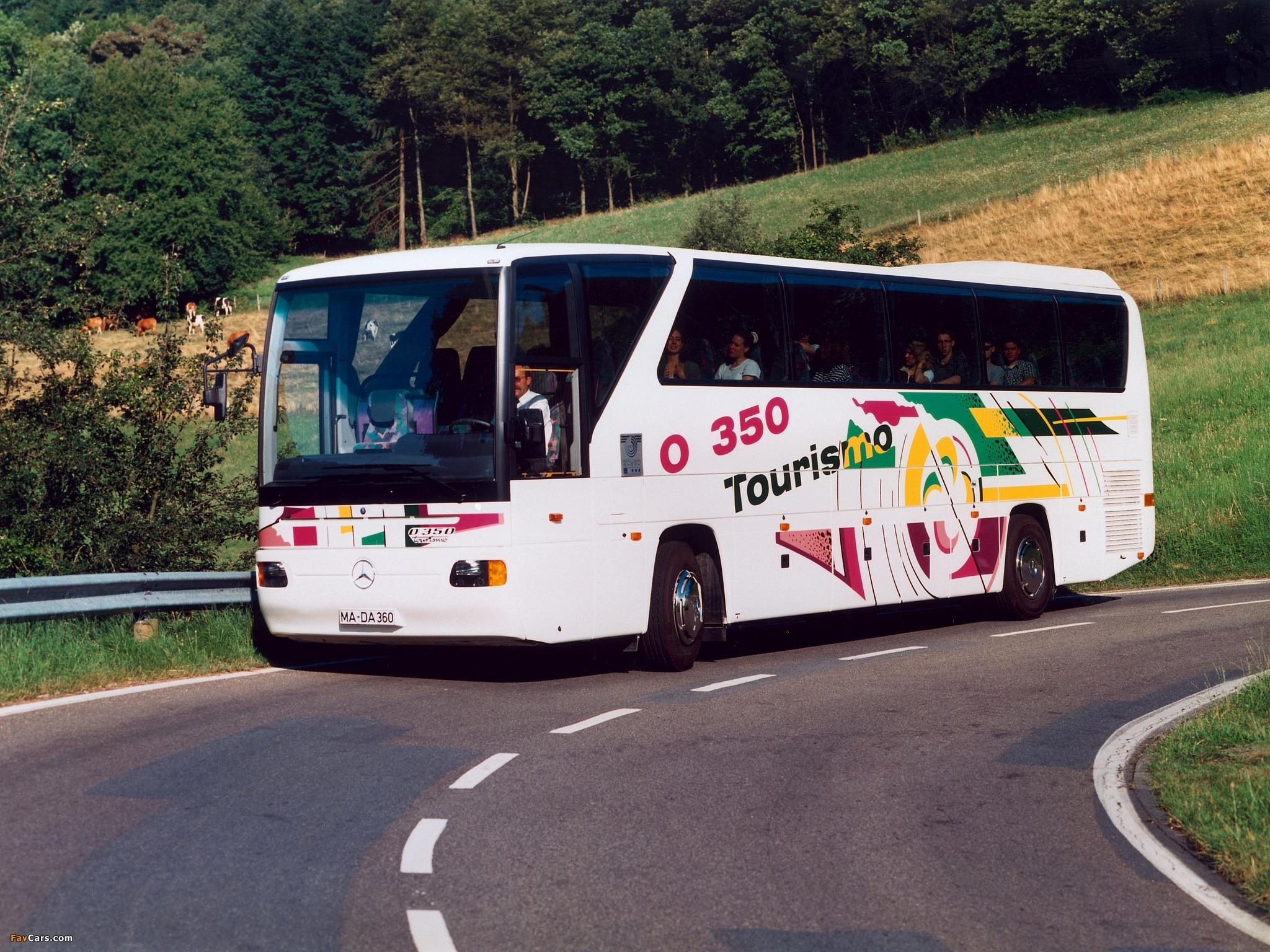 Mercedes-Benz Tourismo (O350) 1994–99 wallpapers (2048 x 1536)