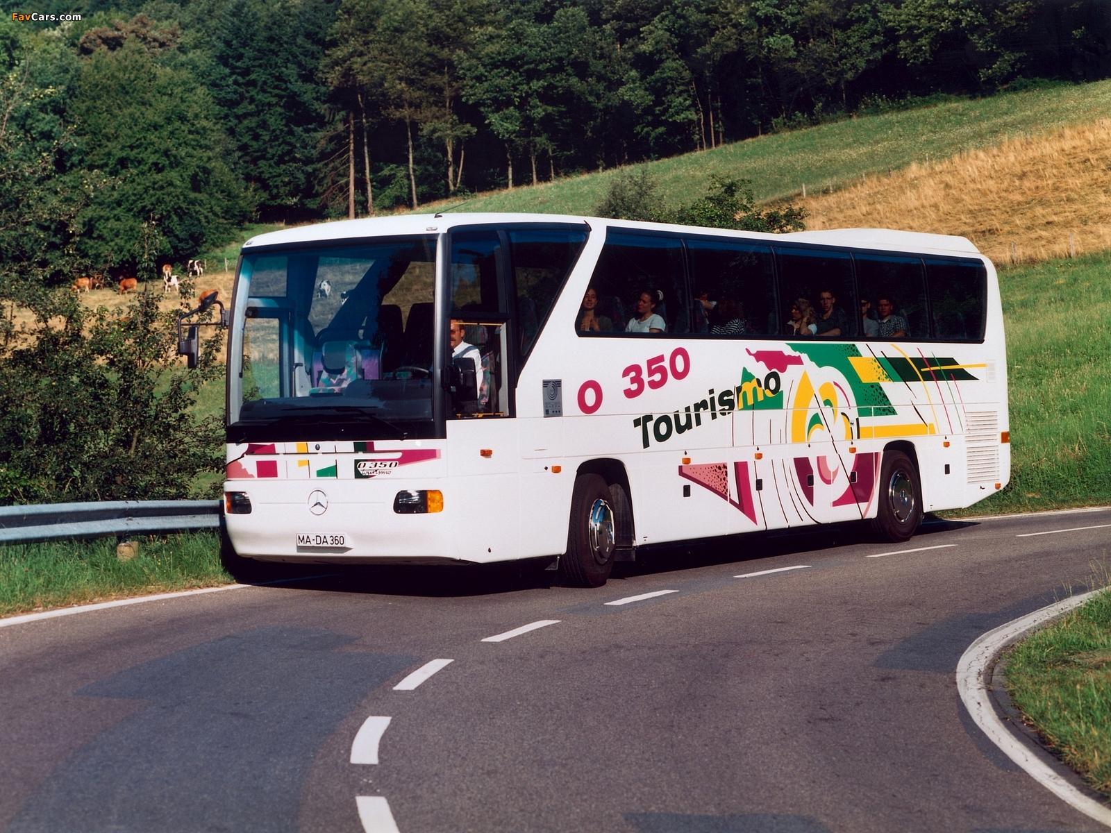 Mercedes-Benz Tourismo (O350) 1994–99 wallpapers (1600 x 1200)